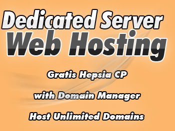 Low-priced dedicated hosting service